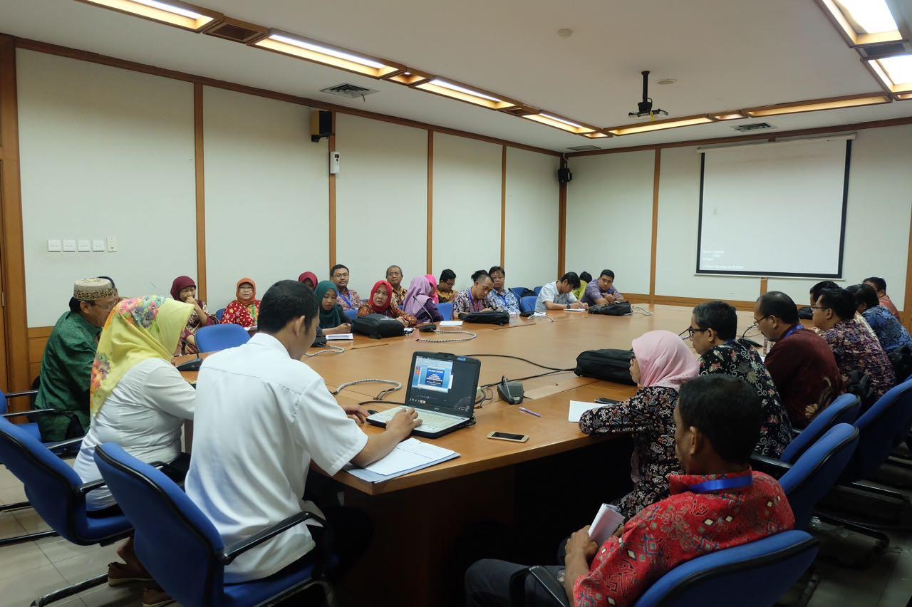 Visitasi Peserta Diklat Teknis Penulisan Sejarah 1