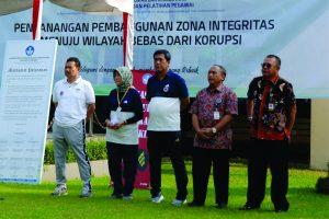 Deklarasi Pembangunan Zona Integritas Menuju Wilayah Bebas dari Korupsi 1